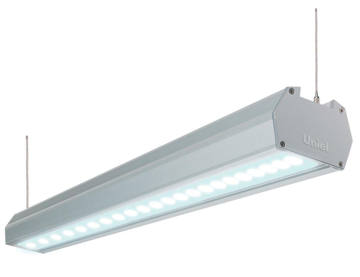 подвесные промышленные led светильники