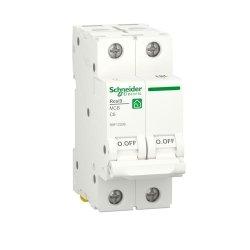 Автоматический выключатель RESI9 6kA 2P 6A C