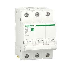 Автоматический выключатель RESI9 6kA 3P 10A C