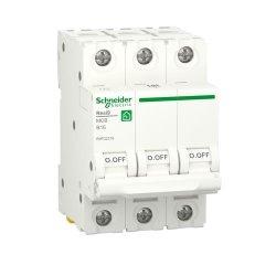 Автоматический выключатель RESI9 6kA 3P 16A В
