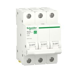 Автоматический выключатель RESI9 6kA 3P 20A C