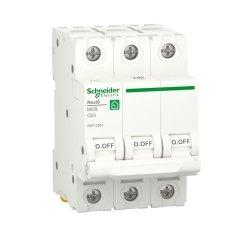 Автоматический выключатель RESI9 6kA 3P 63A C