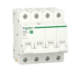 Автоматический выключатель RESI9 6kA 4P 25A C