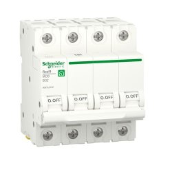 Автоматический выключатель RESI9 6kA 4P 32A В