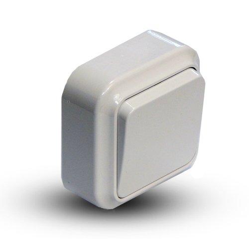Выключатель 1-кл наружный  АБС А-131 (90шт/уп)