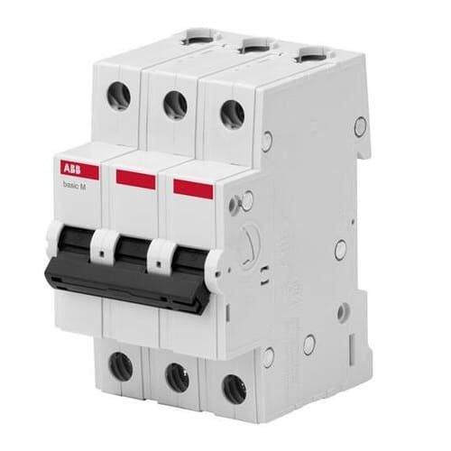 Фото Автоматичний вимикач АВВ 3/63А BMS413C63 Электробаза