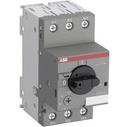 Автом. вимикач захисту двигуна ABB MS116-4,0 # 2,5…4A, Ics=50кА