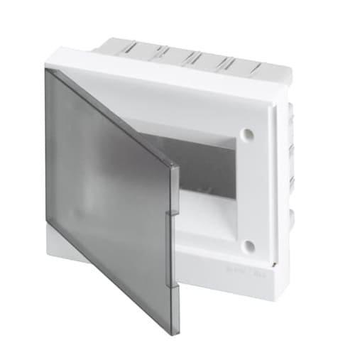 Фото Щит внутренний 8М АВВ IP40 BEF402208 с прозрачной дверкой Электробаза