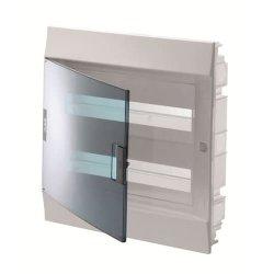 Щит внутр. АВВ Mistral41F 24M32SM 320х435х108 прозорі дверцята