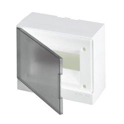 Щит навесной 8М АВВ IP40 BEW402208 с прозрачной дверкой