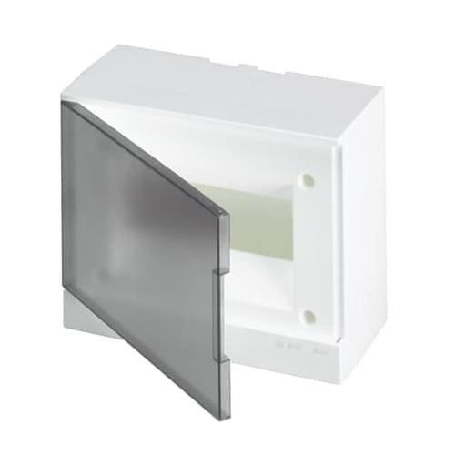 Фото Щит навесной 8М АВВ IP40 BEW402208 с прозрачной дверкой Электробаза