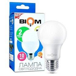 Лампы BIOM smd 10Вт А60 E27  теплий білий