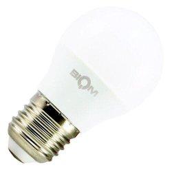 Лампы BIOM smd 4Вт G45 E27  теплий білий