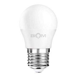 Лампы BIOM smd 9Вт G45 E27 нейтральний білий