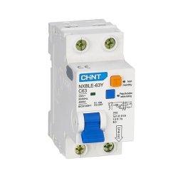 Диф. авт. вимикач NXBLE-63Y 1P+N D32 10мА, тип АС, 4.5kA