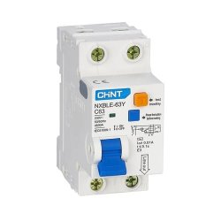 Диф. авт. вимикач NXBLE-63Y 1P+N D20 30мА, тип АС, 4.5kA
