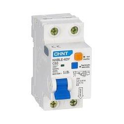 Диф. авт. вимикач NXBLE-63Y 1P+N D40 30мА, тип АС, 4.5kA