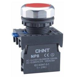 Індикатор NP8-D/4 червоний AC110-230В