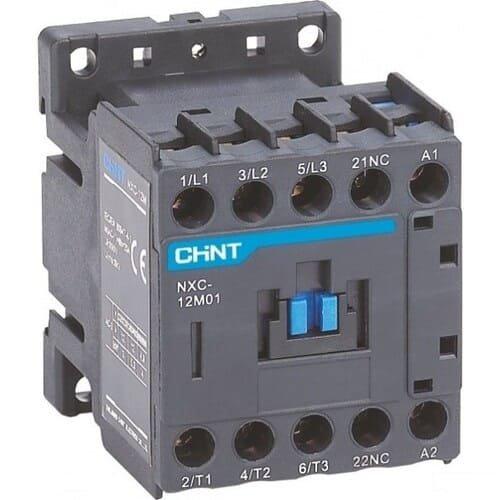 Фото Міні контактор NXC-12M10 12A 220В/АС3 1НО 50Гц Электробаза