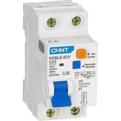 Диф. авт. вимикач NXBLE-63 2P B40 30mA, ел. тип АС, 6kA
