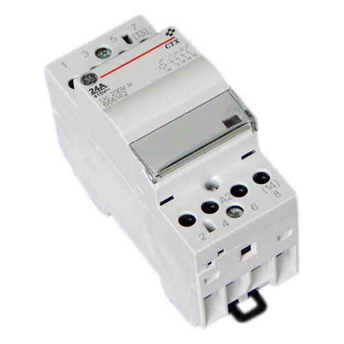 Фото Модульный контактор CTX 24 40 230 U 24A, 230V AC/DC General Electric Электробаза