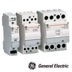 Модульный контактор CTX 40 30 230 U 40A, 230V AC/DC General Electric