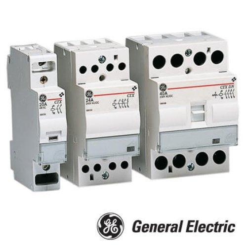 Фото Модульный контактор CTX 20 20 230 A 20A, 230V AC General Electric Электробаза