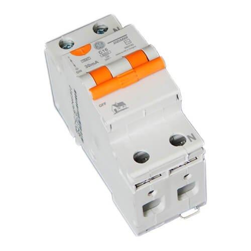 Фото Диф автомат DDM60C16/030 2P AC, 6kA General Electric Электробаза
