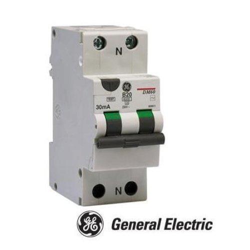 Фото Диф автомат DM60B06/030 2P AC, 6kA General Electric Электробаза