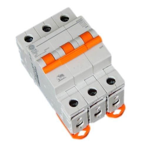 Фото Автоматичний вимикач DG 63 C10А 6kA General Electric Электробаза