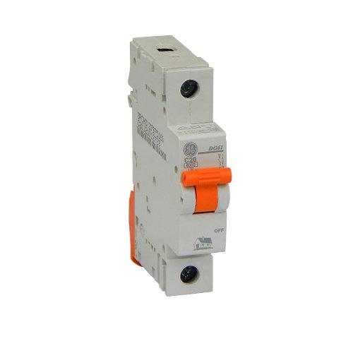 Фото Автоматичний вимикач DG 61 C20А 6kA General Electric Электробаза
