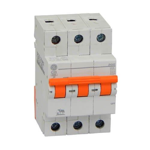 Фото Автоматичний вимикач DG 63 C25А 6kA General Electric Электробаза