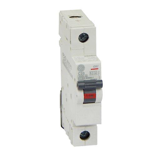 Фото Автоматический выключатель G61 C20А 6kA General Electric Электробаза