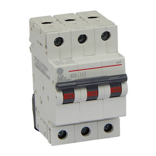 Фото Автоматический выключатель G63 C10А 6kA General Electric Электробаза