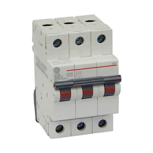 Фото Автоматический выключатель G63 C16А 6kA General Electric Электробаза
