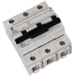 Автоматический выключатель Hti 3P 125A C 10kA General Electric