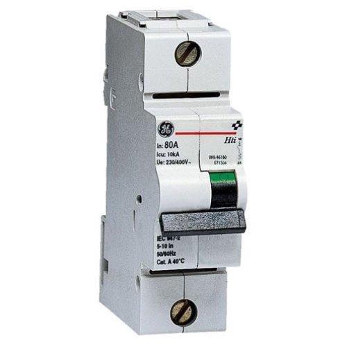 Фото Автоматический выключатель Hti 1P 100A D 10kA General Electric Электробаза