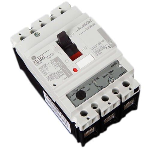 Фото Автоматический выключатель General Electric FD160 Effective 25kA 3p 690V-160A LTM Электробаза