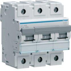 Автоматичний вимикач 3P 10kA C-125A 4.5M Hager