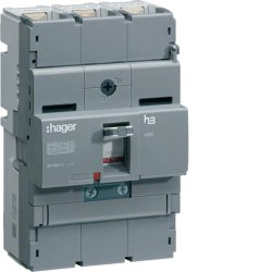 Автоматичний вимикач x250, In=200А, 3п, 40kA, Трег./Мрег, Hager.