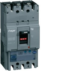 Автоматичний вимикач h400, In=400А, 3п, 50kA, Трег./Мрег, Hager.