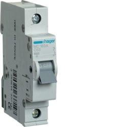 Автоматичний вимикач 1P 6kA C-63A 1M Hager