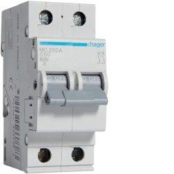 Автоматичний вимикач 2P 6kA C-50A 2M Hager