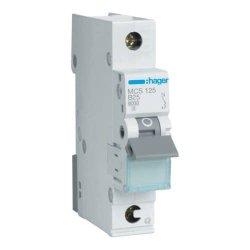 Автоматичний вимикач QC 1P 6kA C-25A 1M Hager