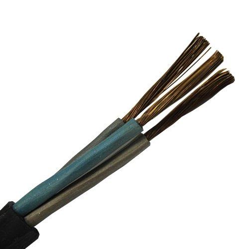 Фото Кабель сварочный КГ 3х2,5 медный в резиновой изоляции Электробаза