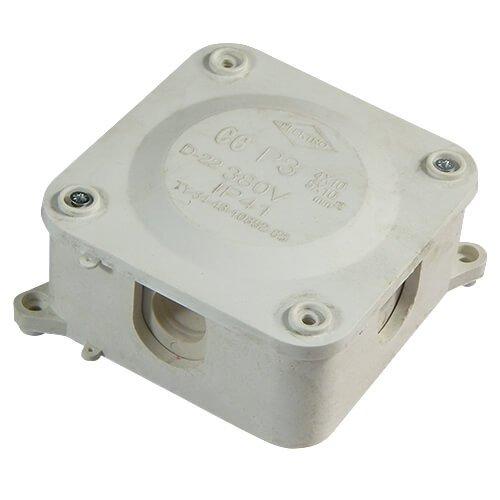 Фото Коробка распределительная герметичная Р3 110х110х50 без клеммника IP41 Электробаза