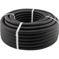 Гофротруба стандарт d 16мм ( чёрная ) ЛАКШЕРИ 100м