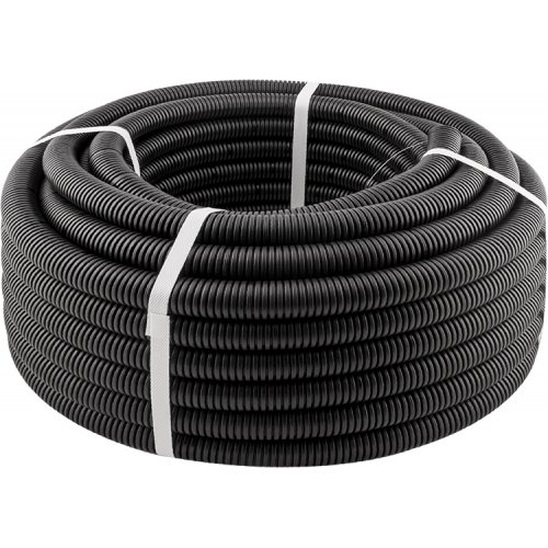 Фото Гофротруба стандарт d 16мм ( чёрная ) ЛАКШЕРИ 100м Электробаза
