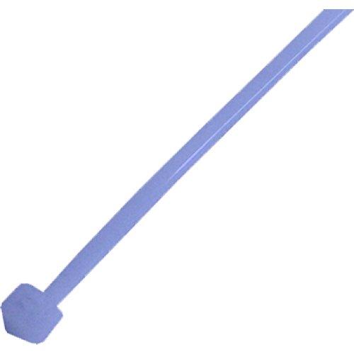 Фото Кабельна стяжка e.ct.stand.200.3.blue (100шт), синя Электробаза