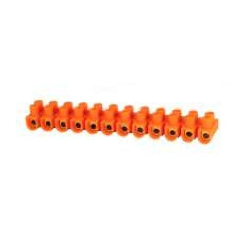 Фото Клемна колодка ділима, 12групп  e.tc.stand.12.20.orange, 30 А, помаранчева Электробаза